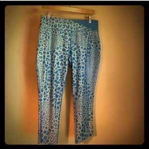 Nike Animal Print Capri Leggings